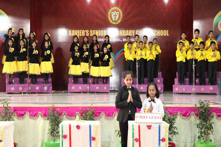 St Xaviers Senior Secondary School-Inauguration Day