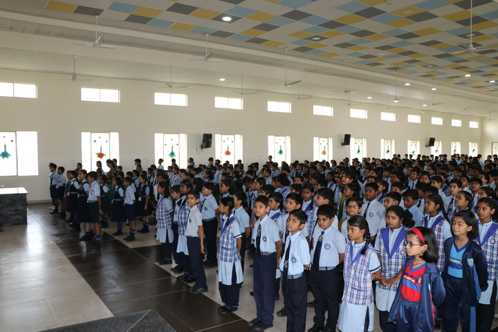 St Xaviers Senior Secondary School-Assembly