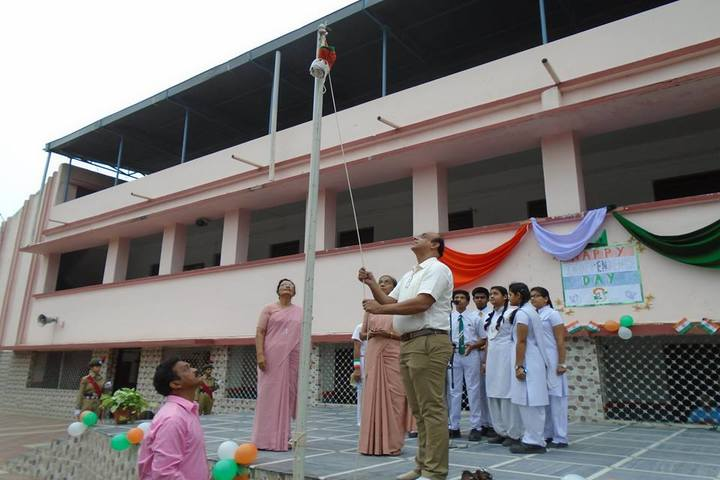 St Josephs Convent H S School-Flag Hosting