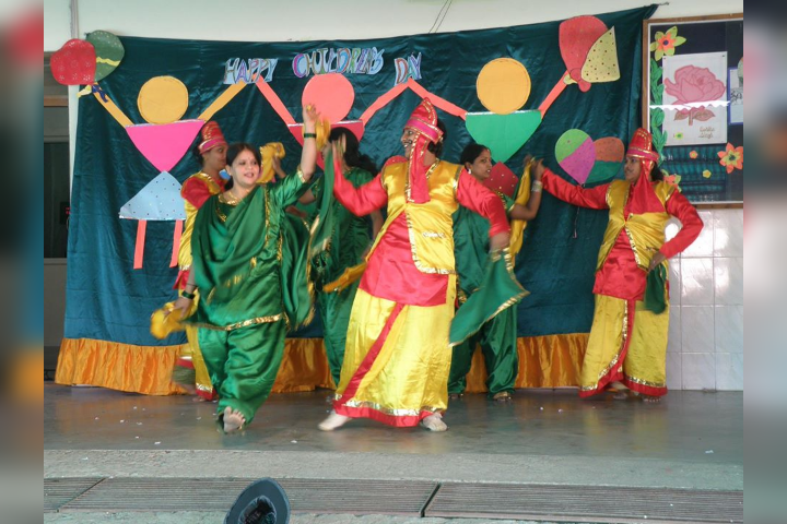 Dancing Activity on Annual Day Function