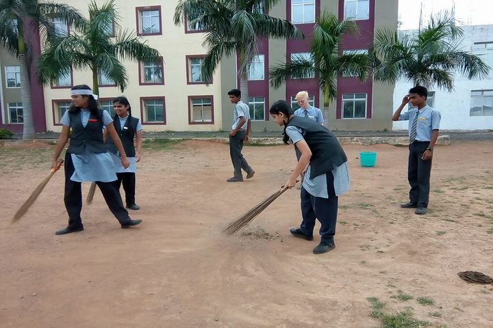 St Patricks School-Clean India Campaign