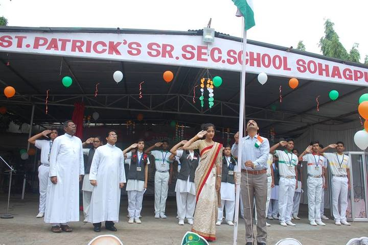 St Patricks School-Flag Hosting