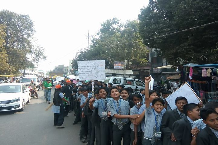 St Patricks School-Rally