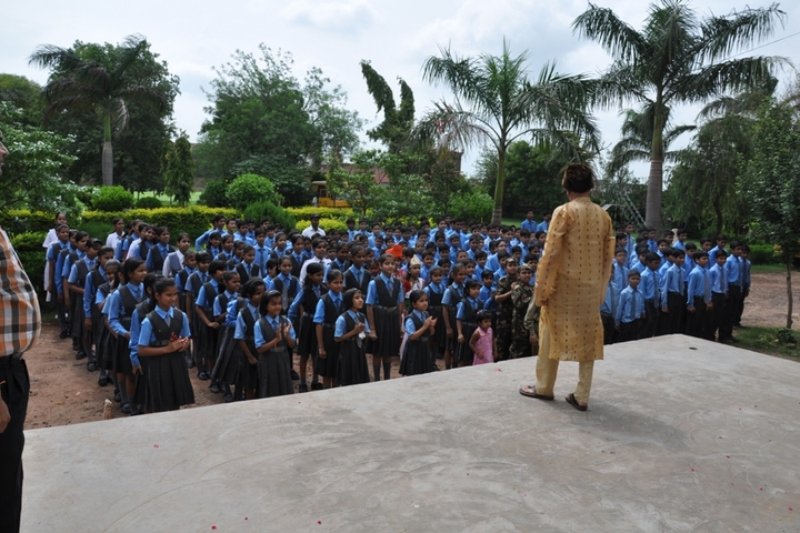 T R Gandhi Public School-Assembly
