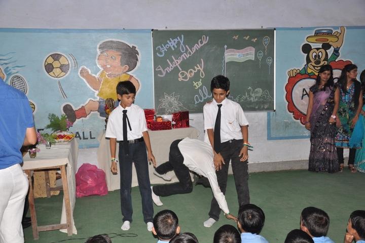 T R Gandhi Public School-Drama