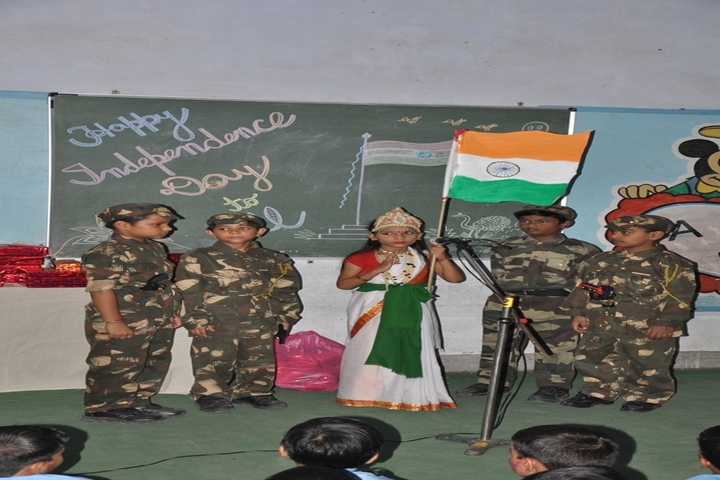 T R Gandhi Public School-Independence Day