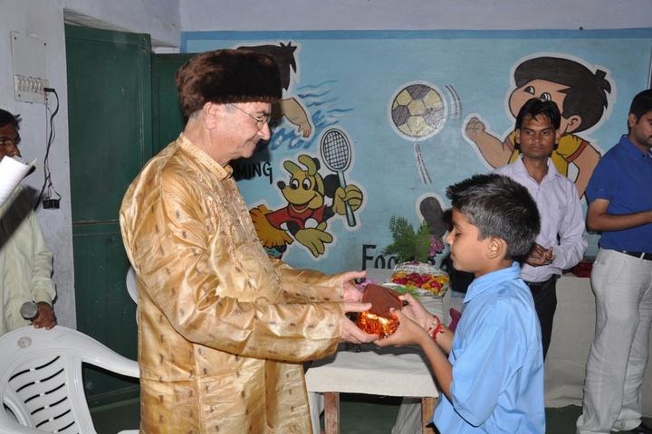 T R Gandhi Public School-Prize
