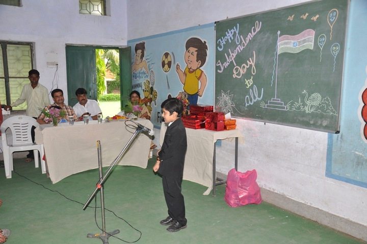 T R Gandhi Public School-Recitation