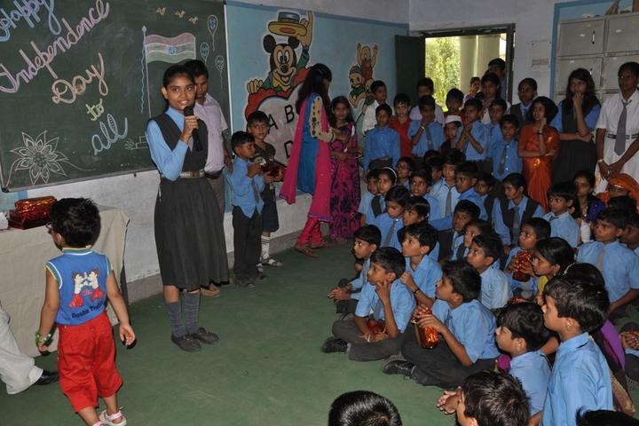 T R Gandhi Public School-Student Speech