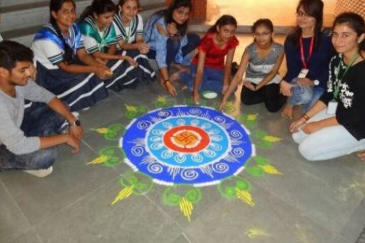 Takshshila Junior College-Rangoli