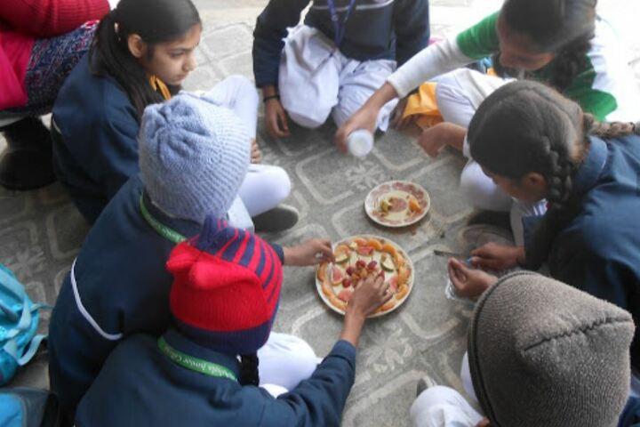 Takshshila Junior College-Vegetable Activity