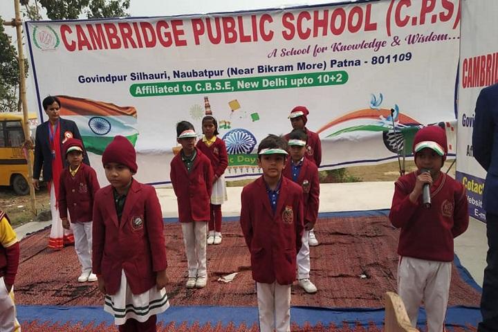 Cambridge Public School-Independence Day Celebration