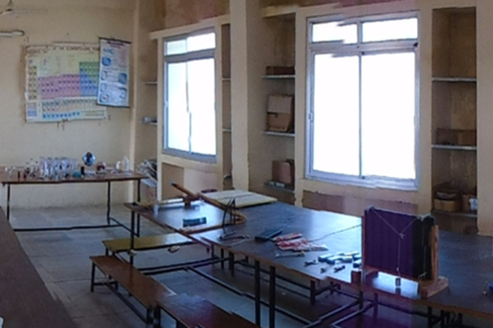The Creative Public Higher Secondary School-Science Labs