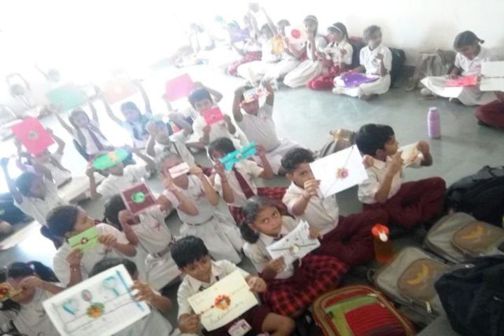 The Manvendra Global School-Art and Craft