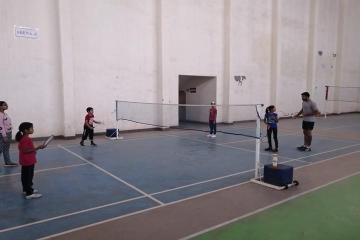 The Manvendra Global School-Badminton Court