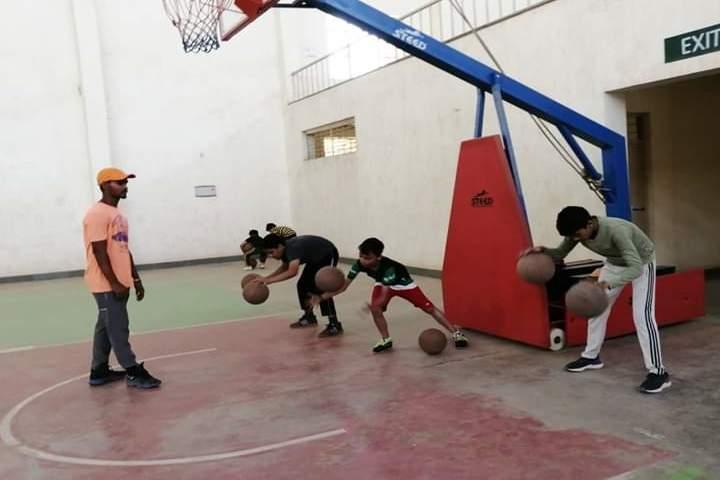 The Manvendra Global School-Basket Ball Court