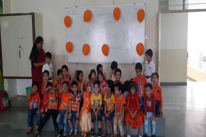 The Manvendra Global School-Orange Day
