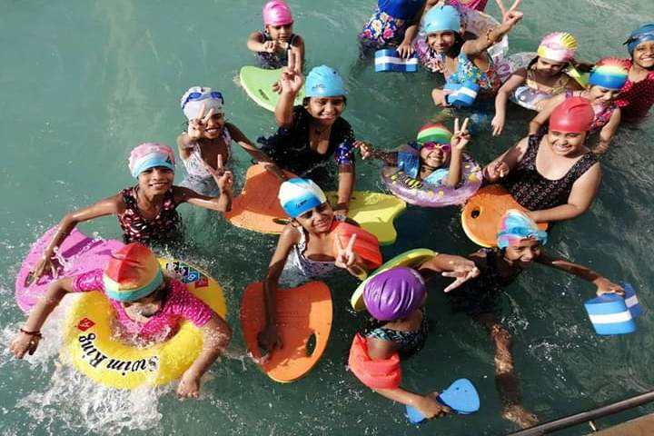 The Manvendra Global School-Pool Party