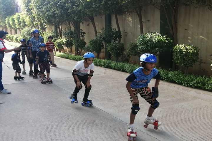 The Manvendra Global School-Skating Class