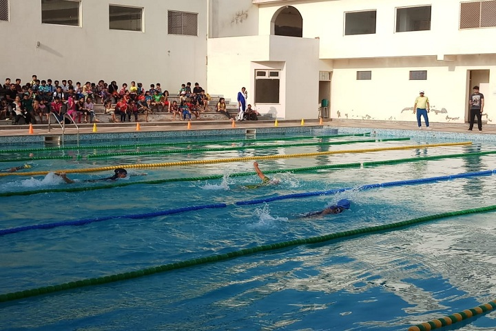 The Manvendra Global School-Swimming Pool