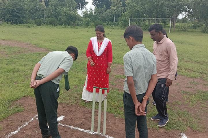 The Oxford School-Cricket Team