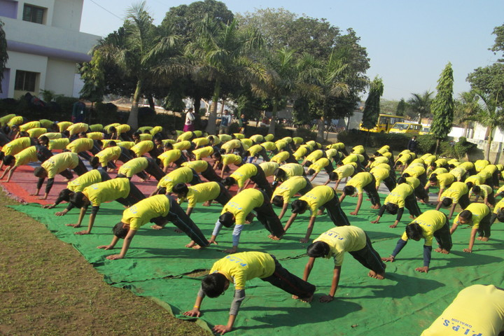 The Pacific International Public School-Yoga