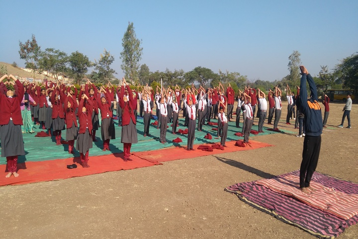 The Sanskar Valley Public School-Surya Namaskaram
