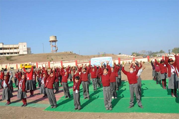 The Sanskar Valley Public School-Yoga