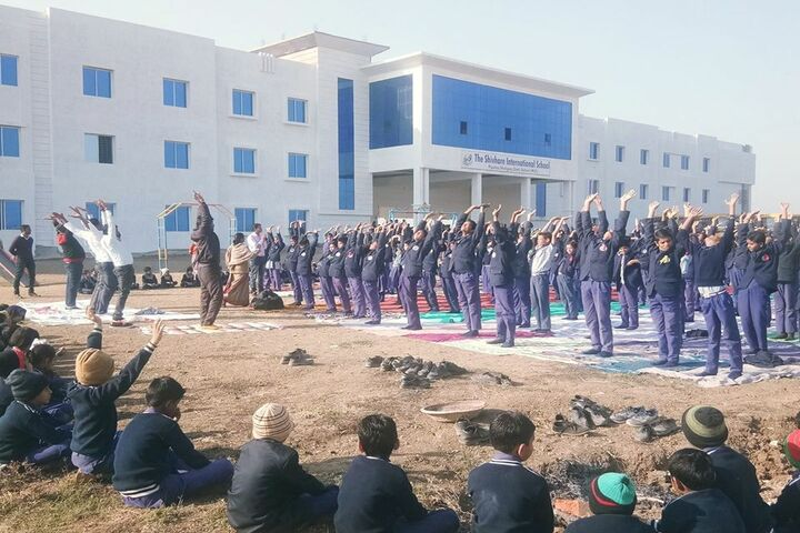 The Shivhare International School-Yoga Day
