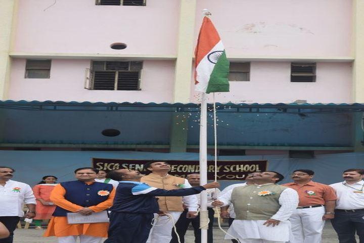 The South Indian Cultural Association Senior Secondary School-Flag Hosting