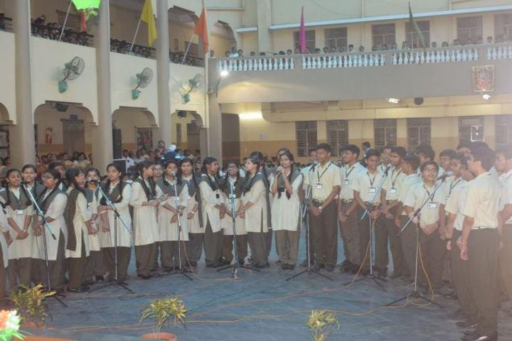 The South Indian Cultural Association Senior Secondary School-Group Song