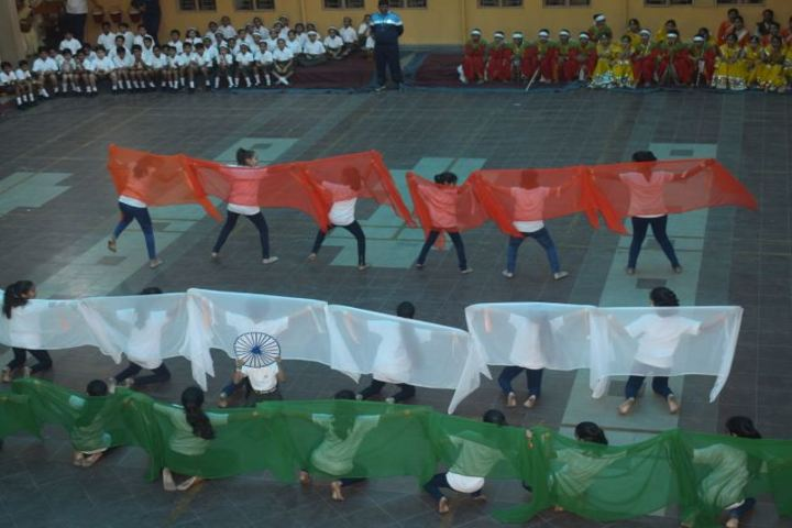The South Indian Cultural Association Senior Secondary School-Independence Day