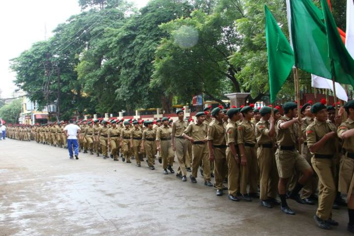The South Indian Cultural Association Senior Secondary School-March Past
