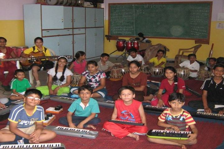 The South Indian Cultural Association Senior Secondary School-Music Room