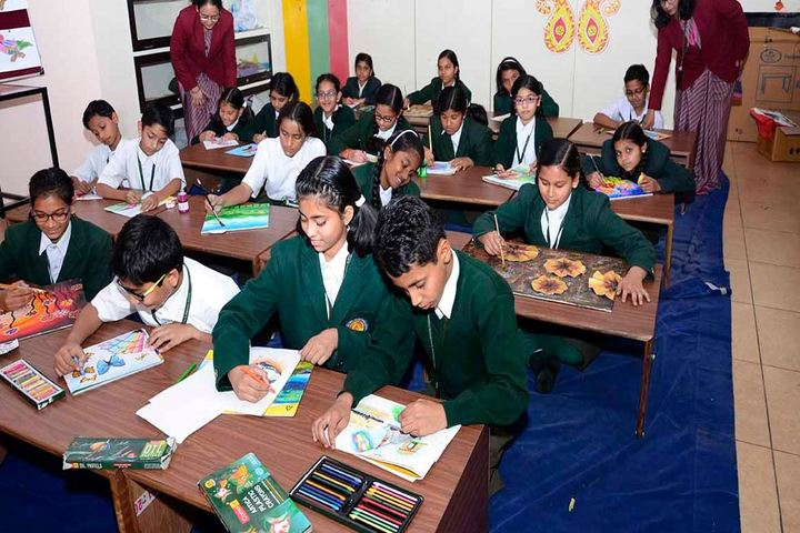 The South Indian Cultural Association Senior Secondary School-Drawing Class
