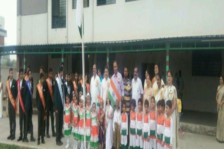 The South Indian Cultural Association Senior Secondary School-Flag Hoisting