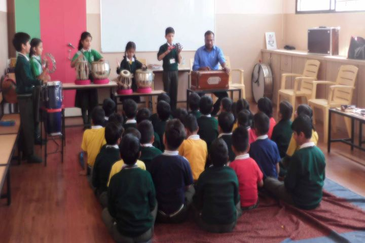 The South Indian Cultural Association Senior Secondary School-Music Class