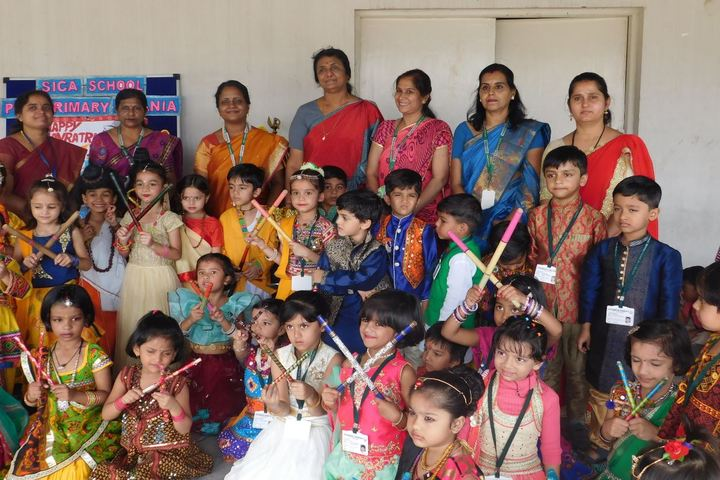 The South Indian Cultural Association Senior Secondary School-Navrathri Celebrations