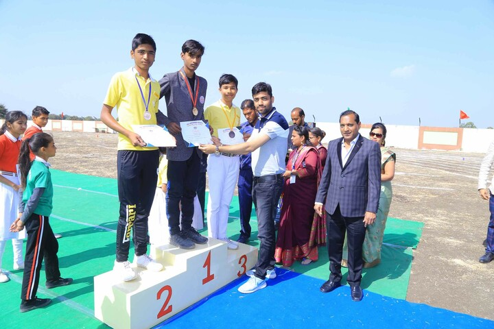 The Vardhaman Heights International School-Sports Champions