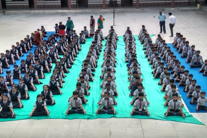 The Vardhaman Heights International School-Yoga