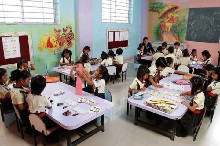 The Vidhyanjali International School-Classroom