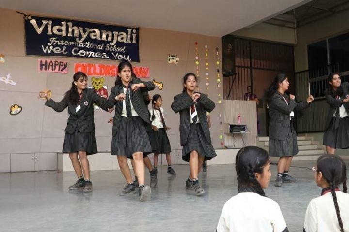 The Vidhyanjali International School-Dance