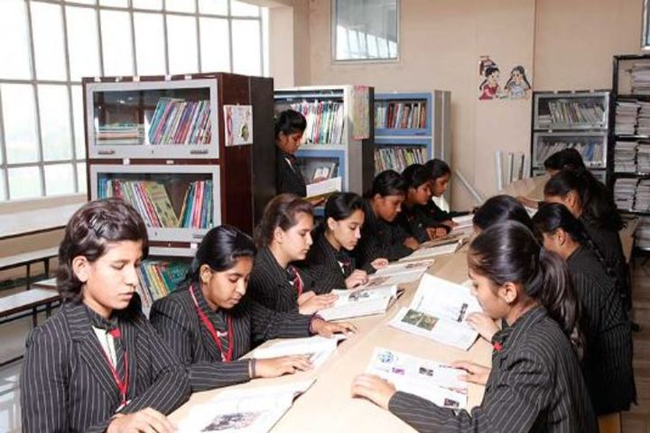 The Vidhyanjali International School-Library