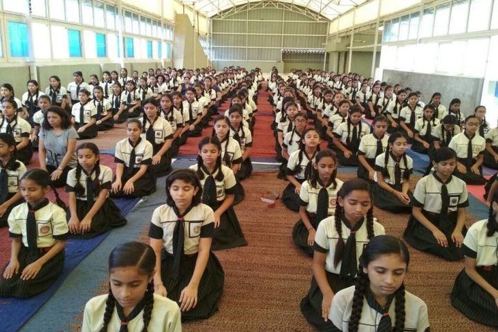 The Vidhyanjali International School-Yoga