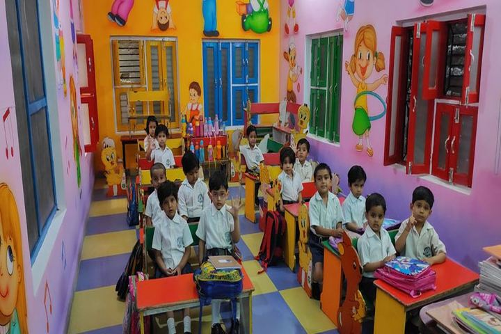 The Wood Stock School-Kids Classroom