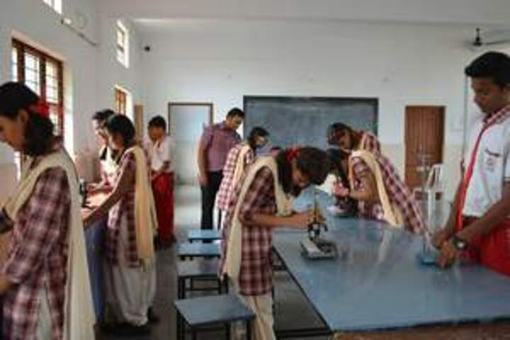 Trinity Convent Higher Secondary School-Lab