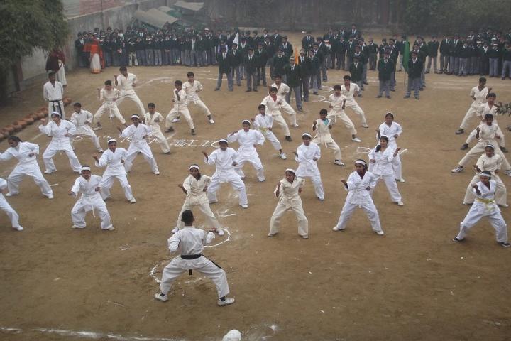 Cambridge School-Karate