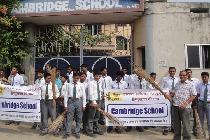 Cambridge School-Rally