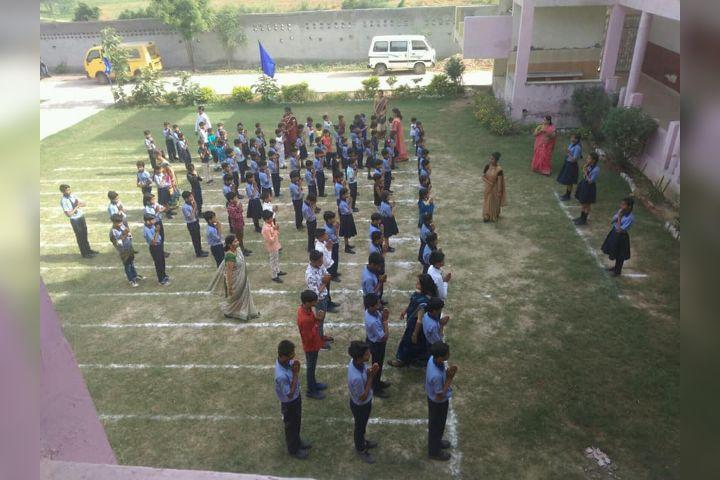 valley green public school- Assembly