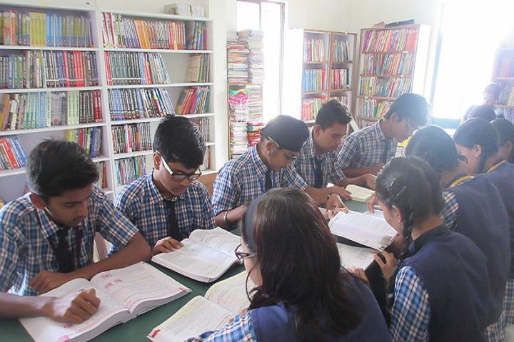 Vardhaman Public School - Library